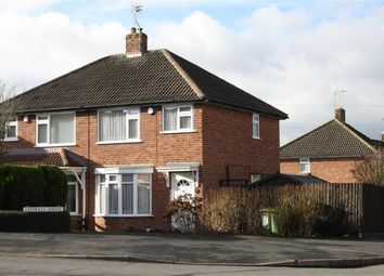 Thumbnail 2 bed semi-detached house for sale in Ledwell Drive, Glenfield, Leicester