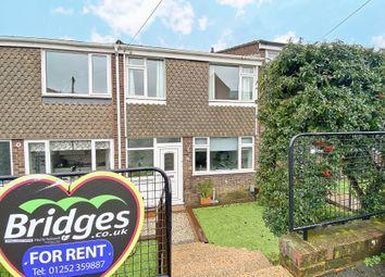 Thumbnail 3 bed terraced house to rent in Eddy Road, Aldershot
