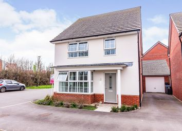 Thumbnail 4 bed detached house for sale in Athelney Avenue, Westbury