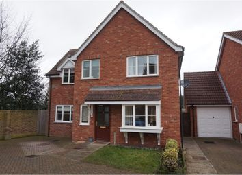 Thumbnail 3 bed detached house for sale in Millers Close, Ipswich