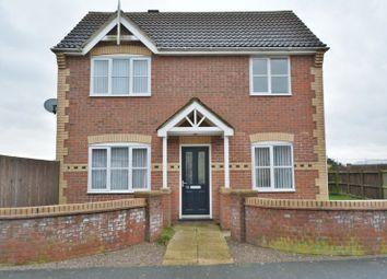 Thumbnail 3 bed detached house for sale in Norwich Drive, Bracebridge Heath, Lincoln