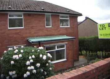 Thumbnail 3 bed semi-detached house to rent in Douglas Avenue, Horwich, Bolton