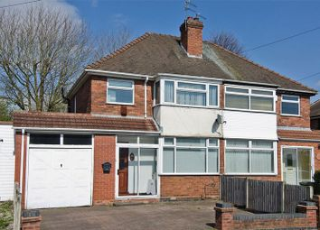 Thumbnail 3 bed semi-detached house for sale in Lawfred Avenue, Wednesfield, Wolverhampton