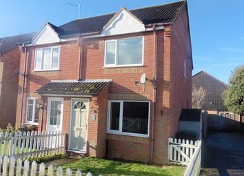 Thumbnail 2 bedroom semi-detached house to rent in River View Close, Fakenham