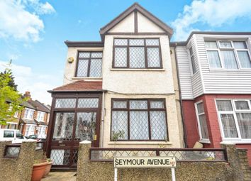 Thumbnail 3 bed end terrace house for sale in Seymour Avenue, Tottenham