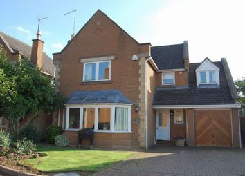 Thumbnail 4 bed detached house for sale in Northfield Green, East Haddon, Northampton