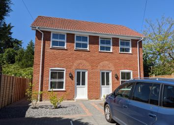 Thumbnail 2 bed semi-detached house for sale in Long Row, Leiston