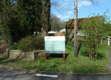 Thumbnail 1 bed mobile/park home for sale in Whitehill Park, Whitehill
