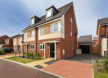Thumbnail 3 bed town house for sale in Shotton View, Great Park, Newcastle Upon Tyne