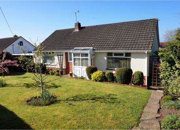 Thumbnail 2 bed detached bungalow for sale in Llandevaud, Newport