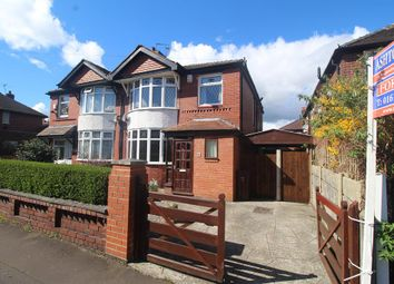 Thumbnail 4 bed semi-detached house for sale in Howard Road, Manchester