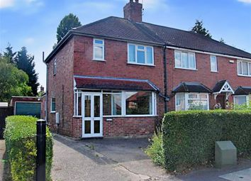 Thumbnail 3 bed semi-detached house to rent in Ewell Road, Wollaton, Nottingham