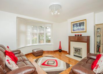Thumbnail 4 bed semi-detached house for sale in Broadway Road, Evington, Leicester