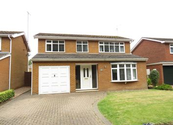 Thumbnail 4 bed detached house for sale in West Elloe Avenue, Spalding