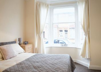 Thumbnail 5 bed terraced house to rent in Bramley Road, Leicester