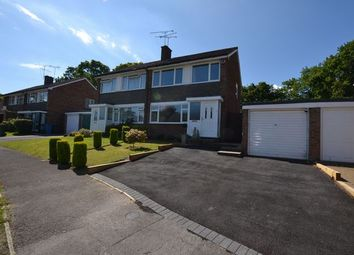 Thumbnail 3 bed semi-detached house for sale in Green Leys, Church Crookham, Fleet