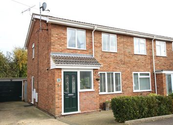 Thumbnail 3 bed semi-detached house for sale in Angel Road, Bramford, Ipswich, Suffolk