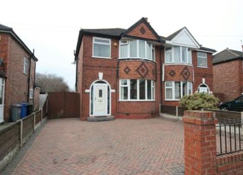 Thumbnail 3 bed semi-detached house for sale in Conway Road, Sale