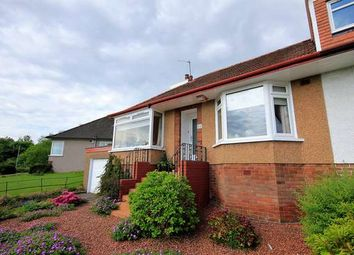 Thumbnail 2 bed semi-detached bungalow for sale in 64 Braefoot Avenue, Milngavie, Glasgow