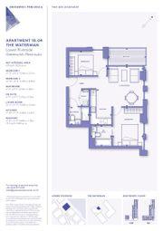 Thumbnail 2 bed flat for sale in The Waterman, Lower Riverside, Greenwich Peninsula