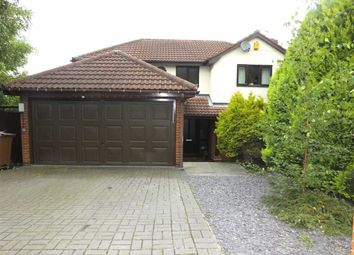 Thumbnail 4 bed detached house for sale in Leander Rise, Burton On Trent, Staffs