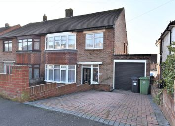Thumbnail 3 bed semi-detached house for sale in Chalkridge Road, Cosham, Portsmouth