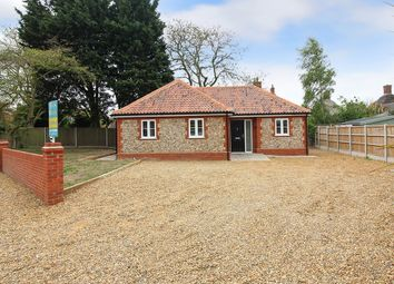 Thumbnail 3 bed detached bungalow for sale in Camping Field Lane, Stalham, Norwich