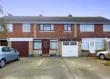 Thumbnail 3 bed terraced house for sale in The Broadway, Lancing, West Sussex