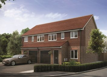 "Thumbnail 3 bed semi-detached house for sale in ""The Piccadilly"" at Limes Place, Upper Harbledown, Canterbury"