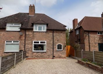 Thumbnail 2 bed semi-detached house for sale in Cromwell Road, Winnington, Northwich