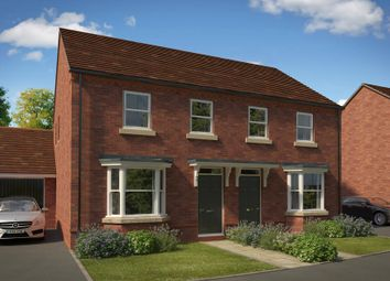 "Thumbnail 3 bedroom semi-detached house for sale in ""Archford"" at Fox Lane, Green Street, Kempsey, Worcester"