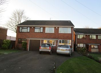 Thumbnail 3 bedroom semi-detached house for sale in Coneygree Road, Tipton