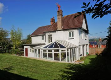 Thumbnail 4 bedroom detached house for sale in Sidford Road, Sidmouth