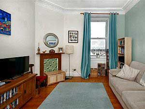 Thumbnail 2 bed flat to rent in Iona Street, Edinburgh