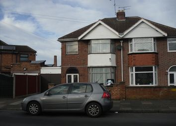 Thumbnail 3 bed semi-detached house to rent in Kitchener Road, Leicester