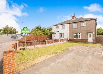 Thumbnail 3 bed semi-detached house for sale in The Avenue, Askern, Doncaster