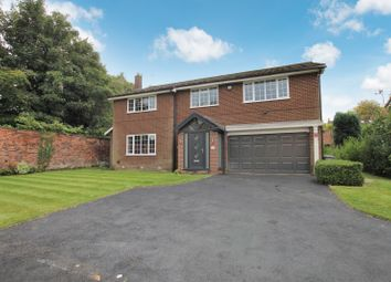 Thumbnail 4 bed detached house for sale in Carlton Court, Hale, Altrincham