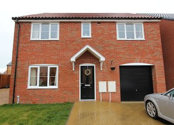 Thumbnail 5 bed detached house for sale in Poppy Street, Wymondham, Norfolk NR18 0Yu