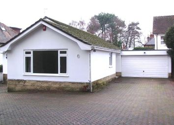 Thumbnail 3 bed bungalow to rent in Sandecotes Road, Lower Parkstone, Poole