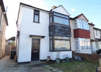 Thumbnail 3 bed semi-detached house for sale in Brent Lane, Dartford, Kent