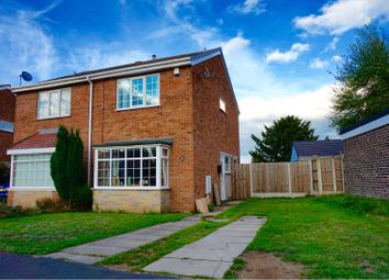 Thumbnail 2 bed semi-detached house for sale in Ainsley Close, Doncaster