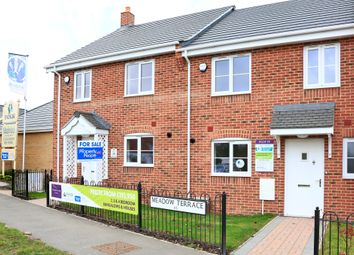 Thumbnail 3 bed terraced house for sale in Meadowlands, Wrentham, Beccles