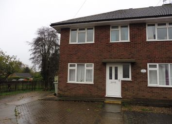 Thumbnail 3 bed flat for sale in Chestnut Road, Oakham