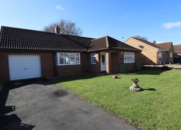 Thumbnail 2 bed detached bungalow for sale in Routland Close, Wragby, Market Rasen