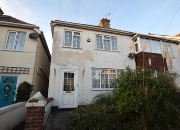 Thumbnail 3 bed semi-detached house for sale in Orient Road, Preston, Paignton, Devon