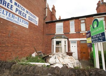 Thumbnail 3 bed terraced house for sale in Nottingham Road, New Basford, Nottingham