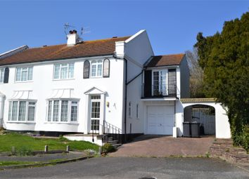 Thumbnail 4 bed semi-detached house for sale in Lodge Avenue, Willingdon, Eastbourne
