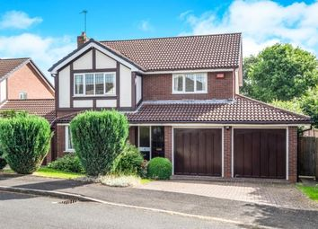 Thumbnail 4 bed detached house for sale in Hollington Way, Shirley, Solihull, West Midlands