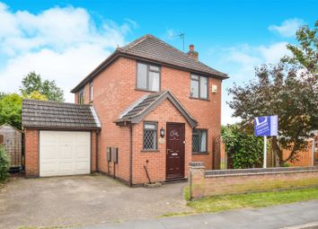 Thumbnail 3 bed detached house for sale in Highgate Road, Sileby, Loughborough
