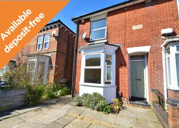 Thumbnail 2 bed semi-detached house to rent in Kent Road, Southampton